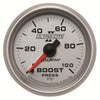 Autometer 4906 Ultra-Lite II Boost Pressure gauge 2-1/16 in., Mechanical
