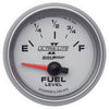 Autometer 4913 Ultra-Lite II Fuel level gauge 2-1/16 in., Electrical