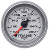 Autometer 4957 Ultra-Lite II Transmission Temperature gauge 2-1/16 in., Electrical