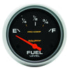 Autometer 5415 Pro-Comp Fuel Level Gauge, 2-5/8 in., Electrical