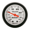 Autometer 5708 Phantom Vac/Boost Press Gauge, 2-1/16 in., Mechanical