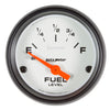 Autometer 5719 Phantom Fuel Level Gauge, 2-1/16 in., Electrical