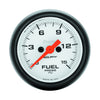 Autometer 5761 Phantom Fuel Pressure Gauge, 2-1/16 in., Electrical