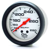 Autometer 5841 Phantom Oil Temperature Gauge, 2-5/8 in., Mechanical