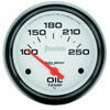 Autometer 5847 Phantom Oil Temperature Gauge, 2-5/8 in., Electrical