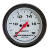 Autometer 5879 Phantom Air/Fuel ratio Gauge, 2-5/8 in., Electrical