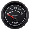 Autometer 5913 ES Series Fuel level gauge,  2-1/16 in., Electrical