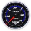 Autometer 6105 Cobalt Boost Pressure Gauge, 2-1/16 in., Mechanical