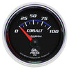 Autometer 6127 Cobalt Oil Pressure Gauge, 2-1/16 in., Electrical