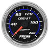 Autometer 6134 Cobalt Oil Pressure Gauge, 2-1/16 in., Electrical