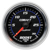 Autometer 6160 Cobalt Boost Pressure Gauge, 2-1/16 in., Electrical