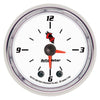 Autometer 7185 C2 Series Clock Gauge, 2-1/16 in., Electrical