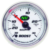 Autometer 7359 NV Series Vac/Boost Press Gauge, 2-1/16 in., Electrical