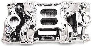 Edelbrock 75014 Performer RPM Air-Gap Intake Manifold Chevy - V8 (262-400) 1955-86