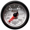 Autometer 7506 Phantom II Boost Pressure Gauge, 2-1/16 in., Mechanical