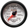 Autometer 7531 Phantom II Water Temperature Gauge, 2-1/16 in., Mechanical
