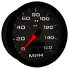 Autometer 7581 Phantom II Speedometer Gauge, 5 in., Electrical