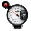 Autometer 7599 Phantom II Tachometer W/Shift Light Gauge, 5 in., Electrical