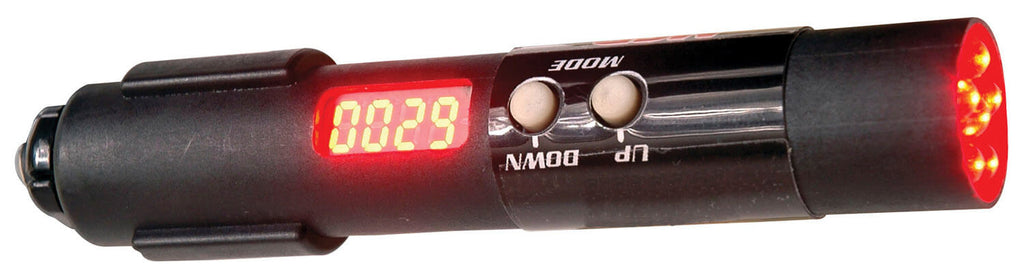 MSD 89631 Digital Programmable Shift Light, Single RPM Point