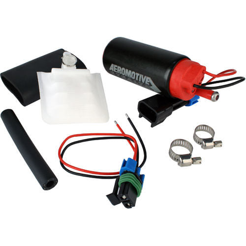 Aeromotive 11542 340 Stealth Fuel Pump - Offset Inlet - Inline