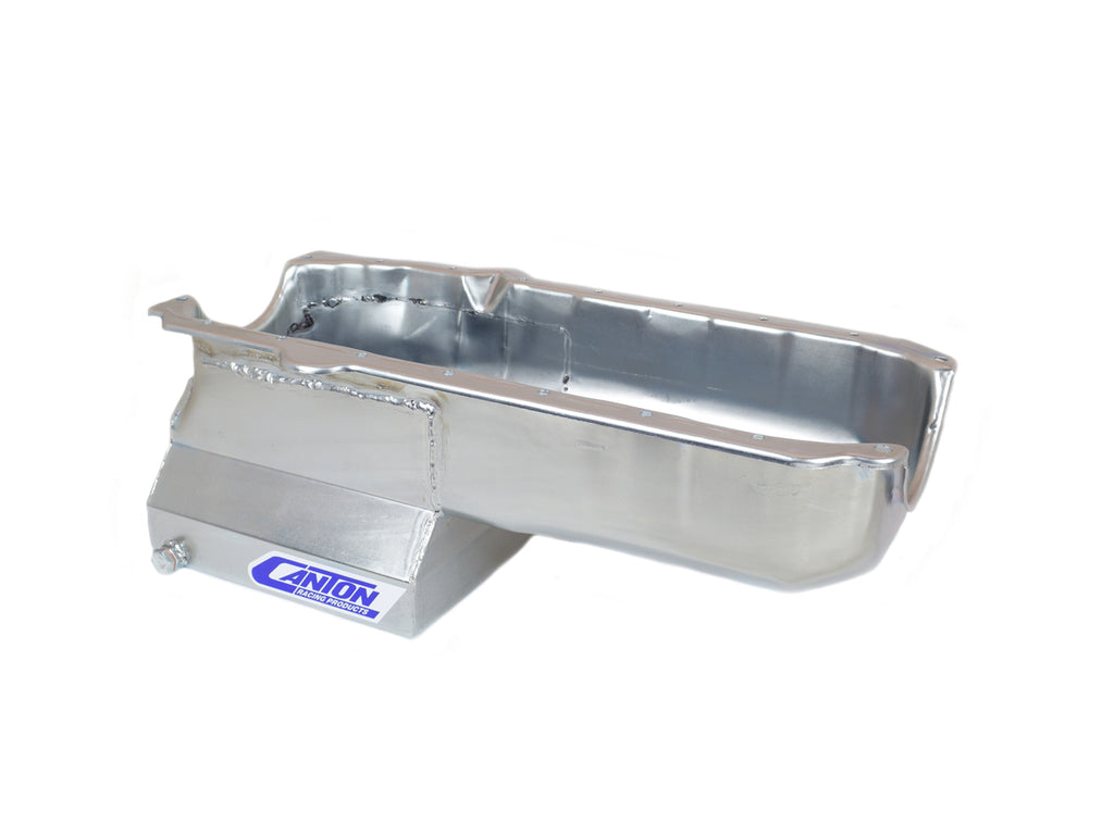 Canton 13-120 SBC Oil Pan - Drag Race Deep T-Sump