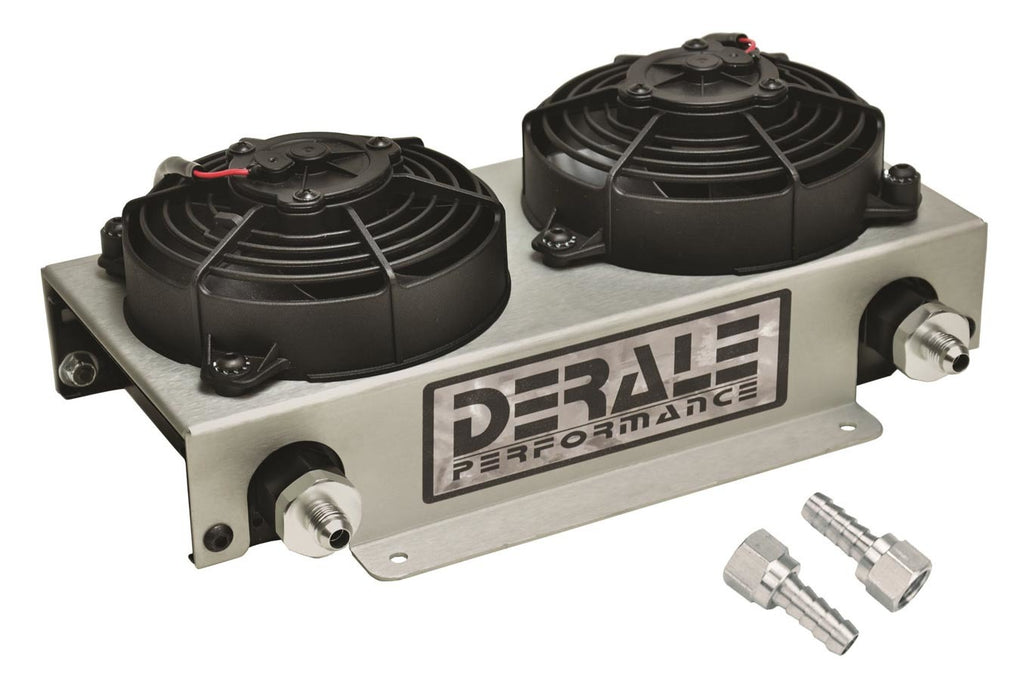 Derale 13740 Remote Oil Cooler -6AN w/ Fan