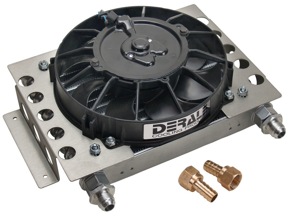 Derale 15850 Remote Oil Cooler w/Fan