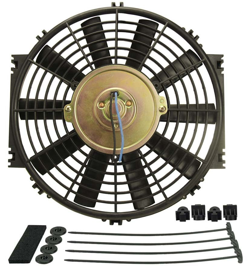 Derale 16910 10in Dyno-Cool Straight Blade Electric Fan