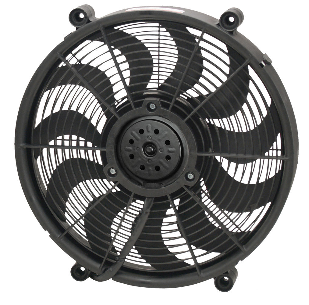 Derale 16917 17in High Output Pusher/ Drop-in Electric Fan