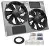 Derale 16927 13in Dual High Output RAD Fans Puller