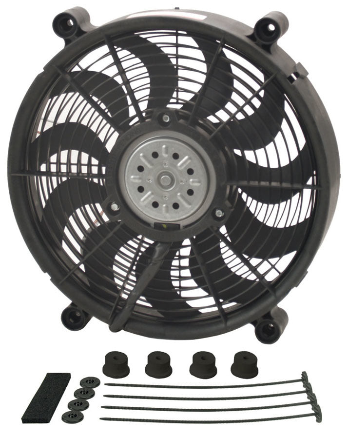 Derale 18214 14in High Output Electrc Fan Std Kit