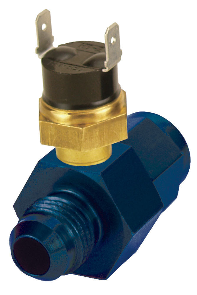 Derale 35020 In-Line Fluid Thermostat 6an 180 Degree