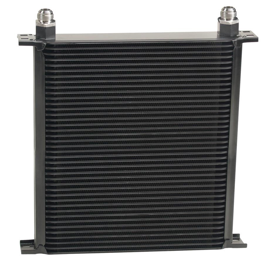 Derale 54010 Stack Plate Oil Cooler 4 0 Row (-10AN)