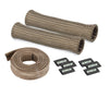 DEI 010704 2 Cylinder Titanium Protect A Boot & Wire Kit