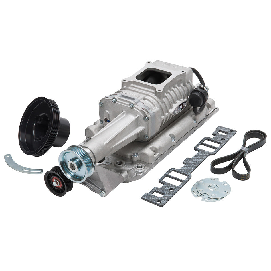 Edelbrock 1552 E-Force 122 Supercharger Kit - SBC w/Vortec Heads