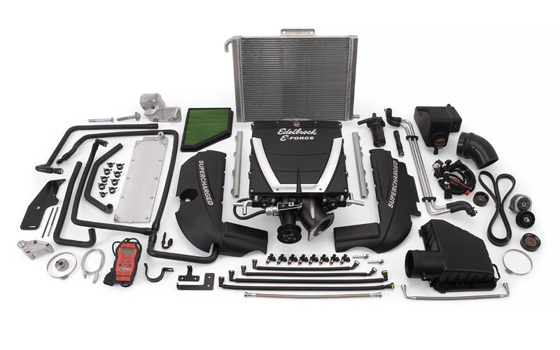 Edelbrock 1562 E-Force Supercharger Kit Camaro V8 10-14 w/Auto