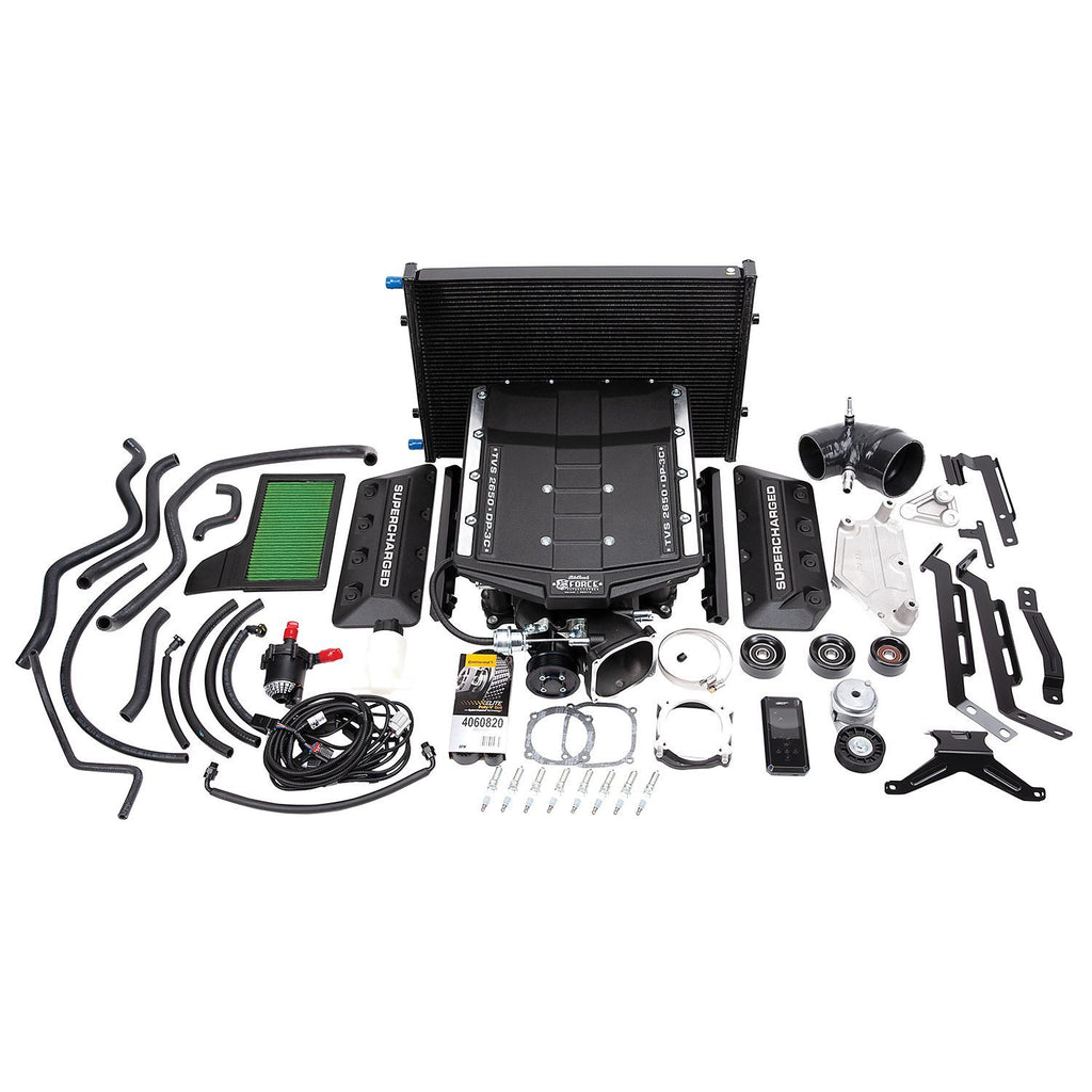 Edelbrock 15832 E-Force Supercharger Kit 18-19 5.0L Mustang