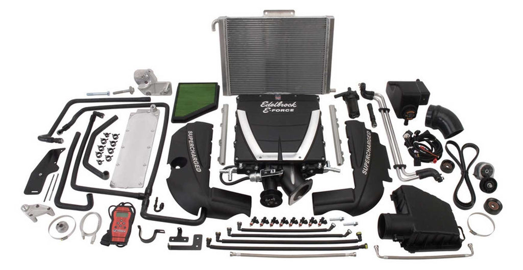 Edelbrock 1597 E-Force Supercharger Kit - 10-13 Camaro SS - Auto