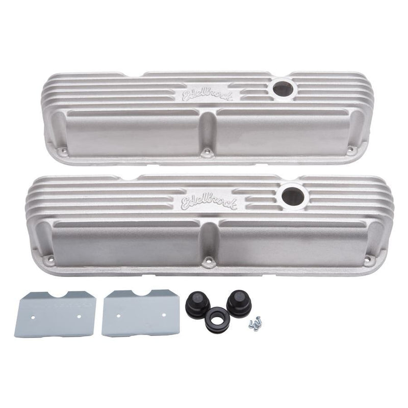 Edelbrock 4277 Elite II Series Valve Covers for 58-76 Ford FE