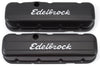 Edelbrock 4683 Signature Series Valve Covers - BBC Tall Black