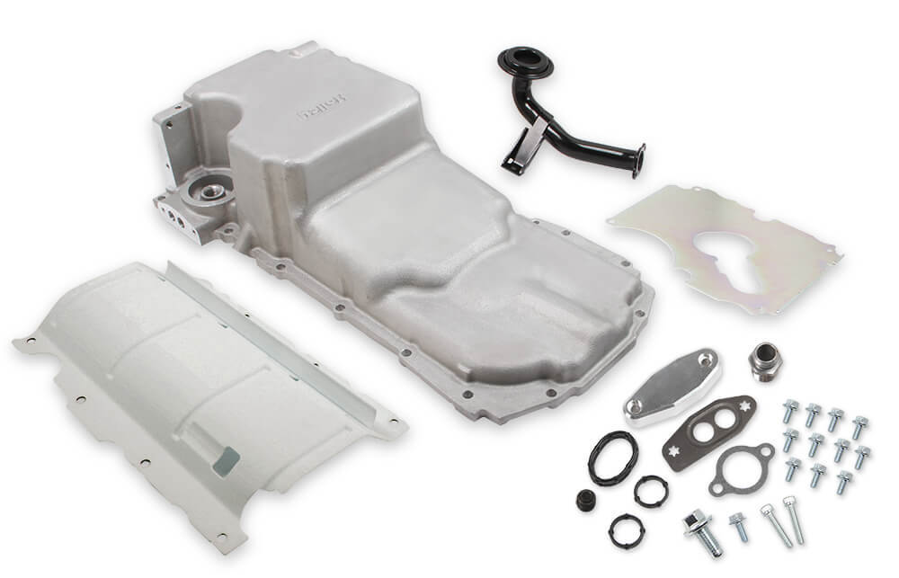 Holley 302-20 GM Gen V LT Oil Pan Swap Kit