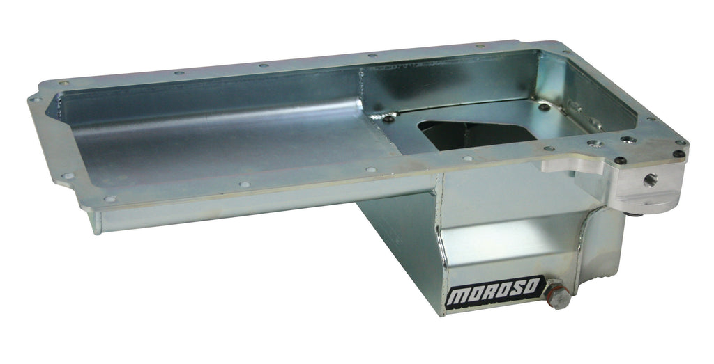Moroso 20142 GM LS Oil Pan w/Billet Oil Filter Adapter 7qts.