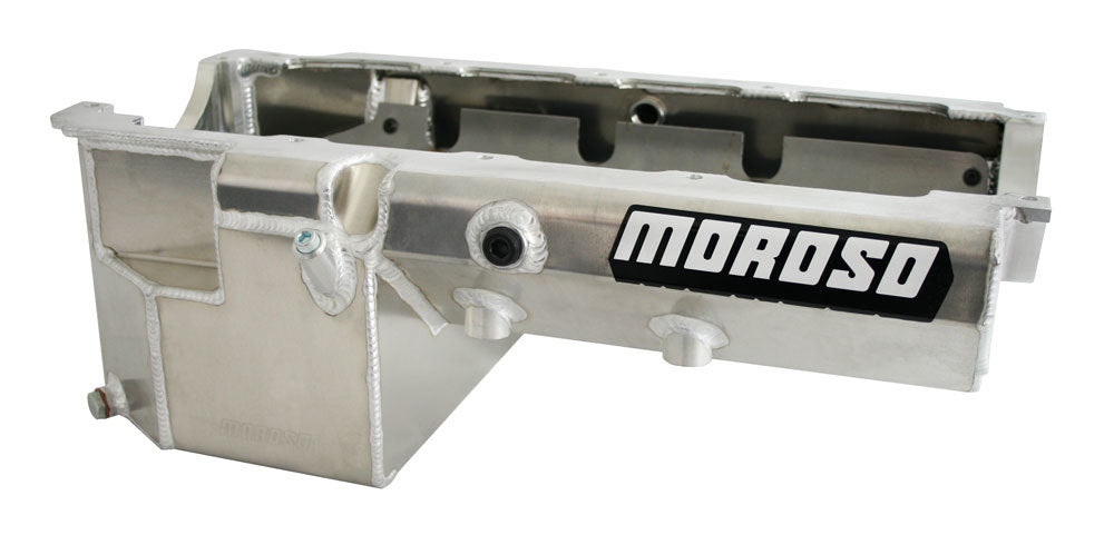 Moroso 20385 BBC Pro Eliminator Oil Pan - Gen IV