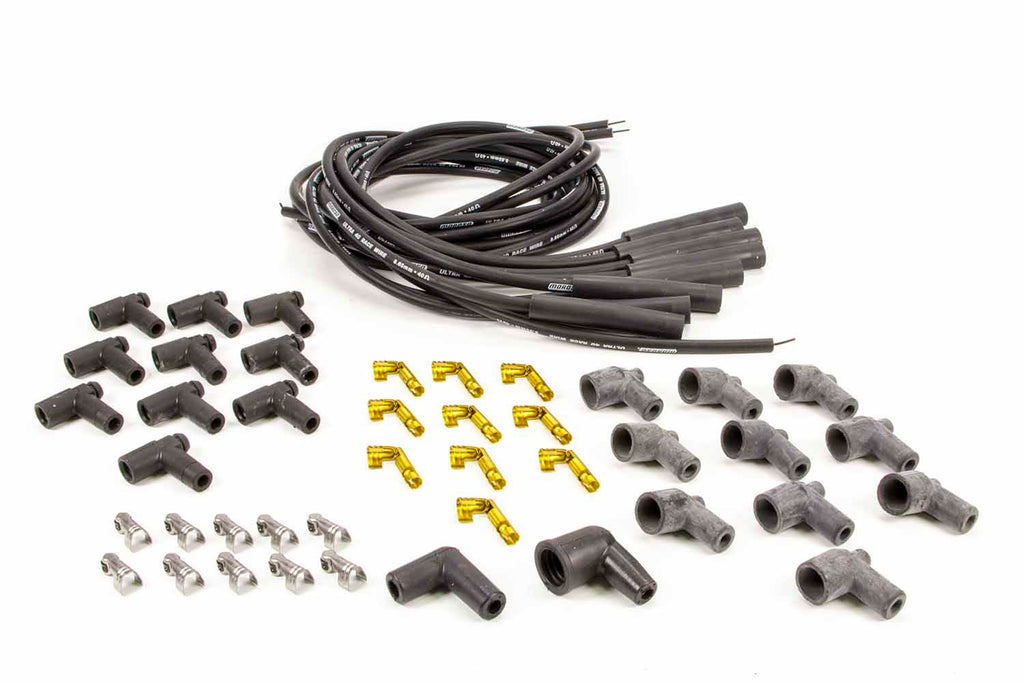 Moroso 73815 Ultra 40 Plug Wire Set - Black