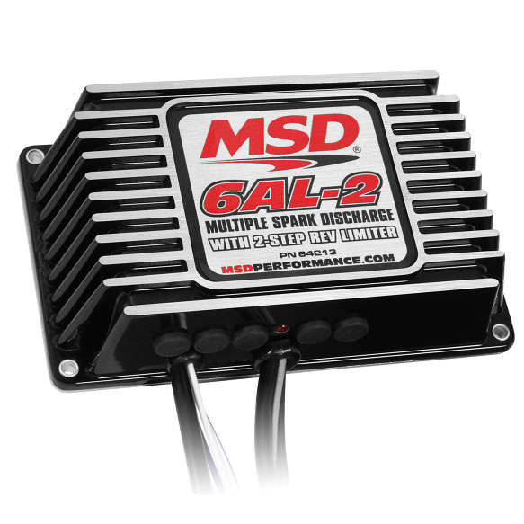 MSD 64213 6AL-2 Digital Ignition Box w/2-Step Rev Control
