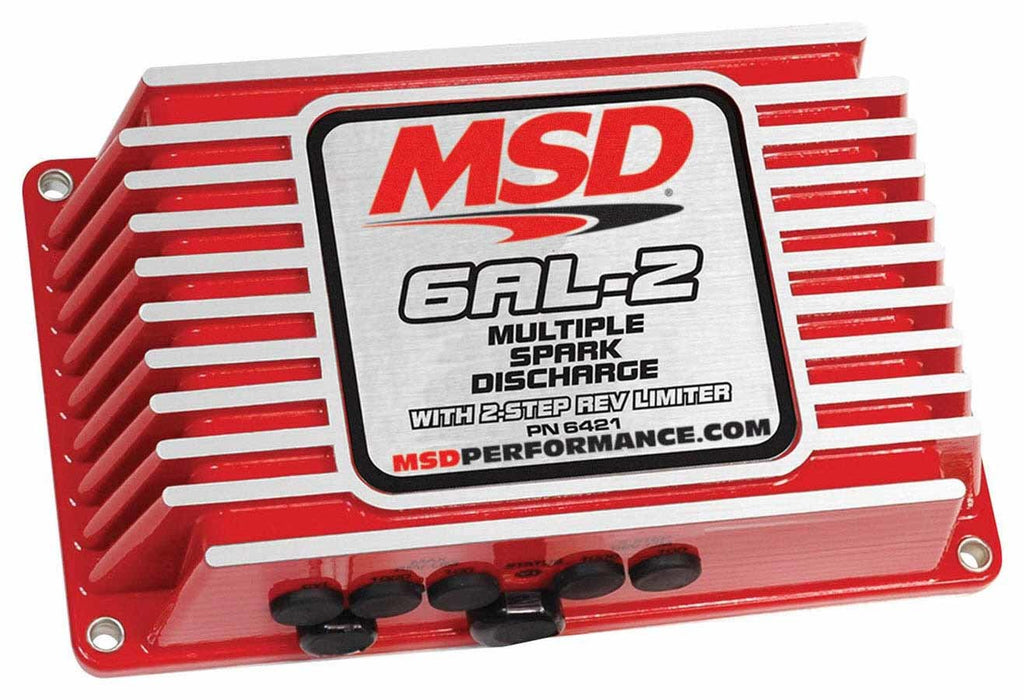MSD 6421 6AL-2 Digital Ignition Box w/2-Step Rev Control