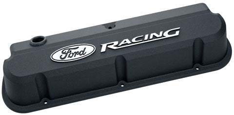 Proform 302-135 Ford Racing Valve Covers - Slant Edge