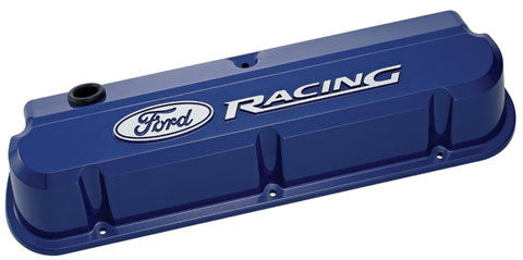 Proform 302-136 Ford Racing Valve Covers - Slant Edge