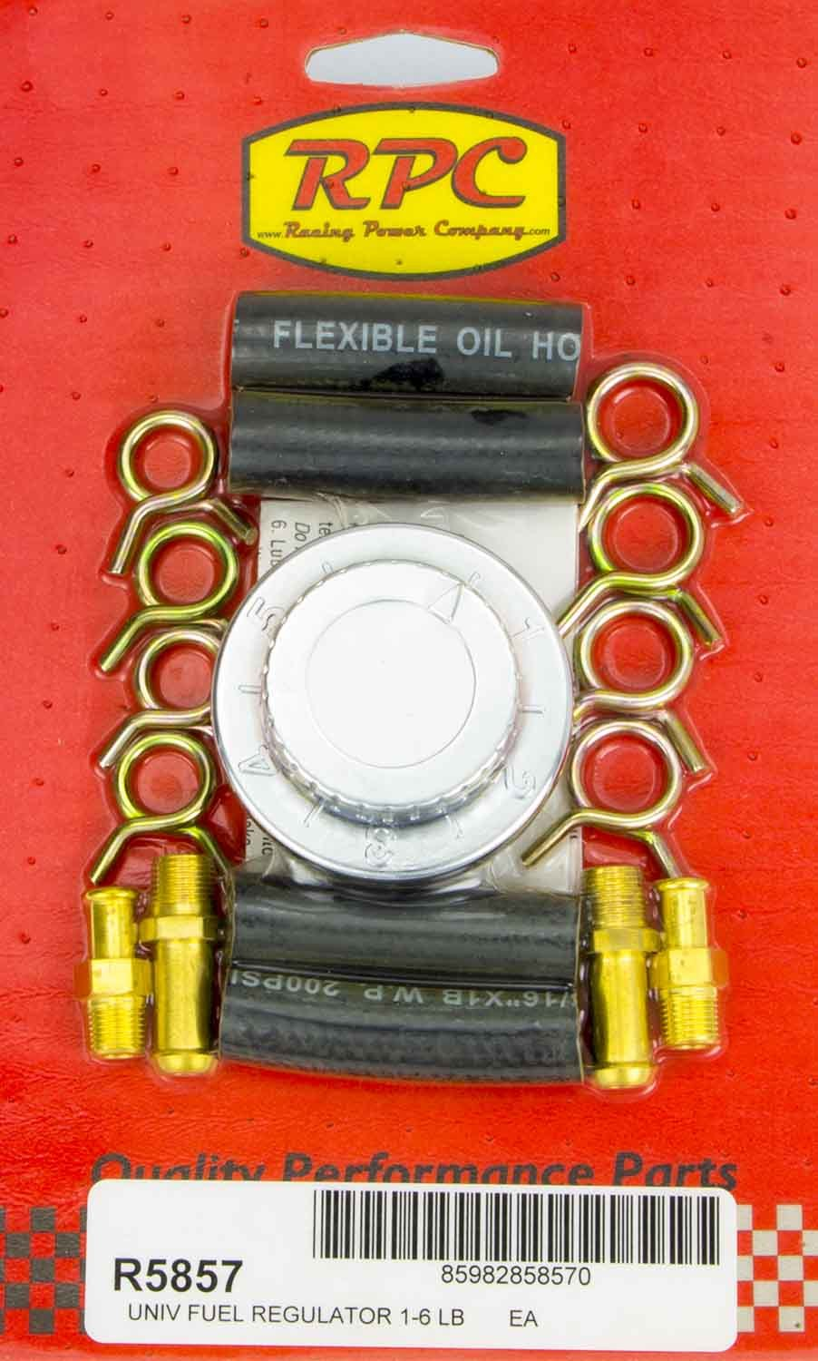 RPC R5857 5/16in & 3/8in Adj. Fuel Regulator