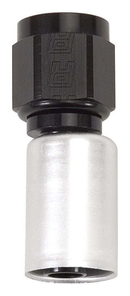 Russell 610463 #6 Str Hose Fitting P/C Crimp-On